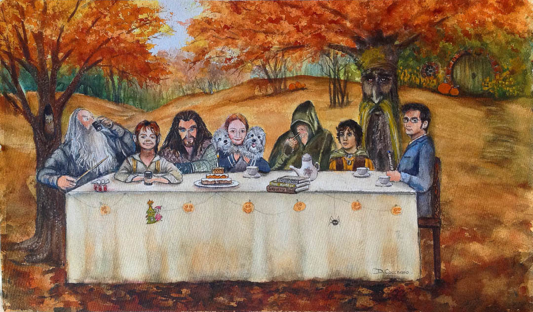 The Hobbit Tea Party
