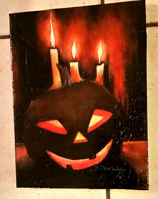 Pumpkin Candles