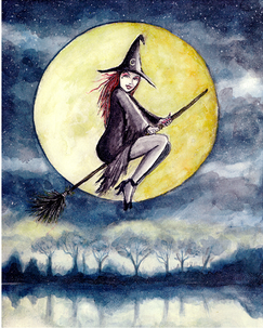 Witch at Dusk