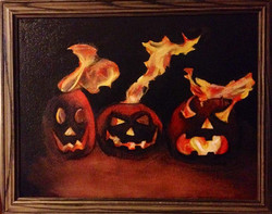 Flaming Gourds