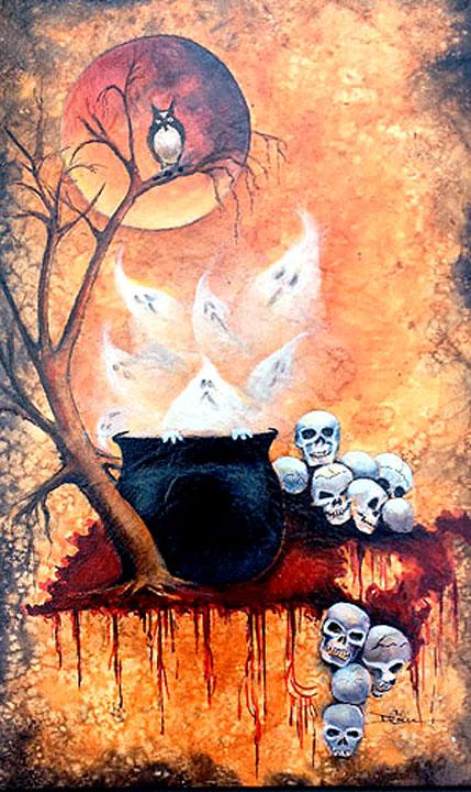 skull+pot