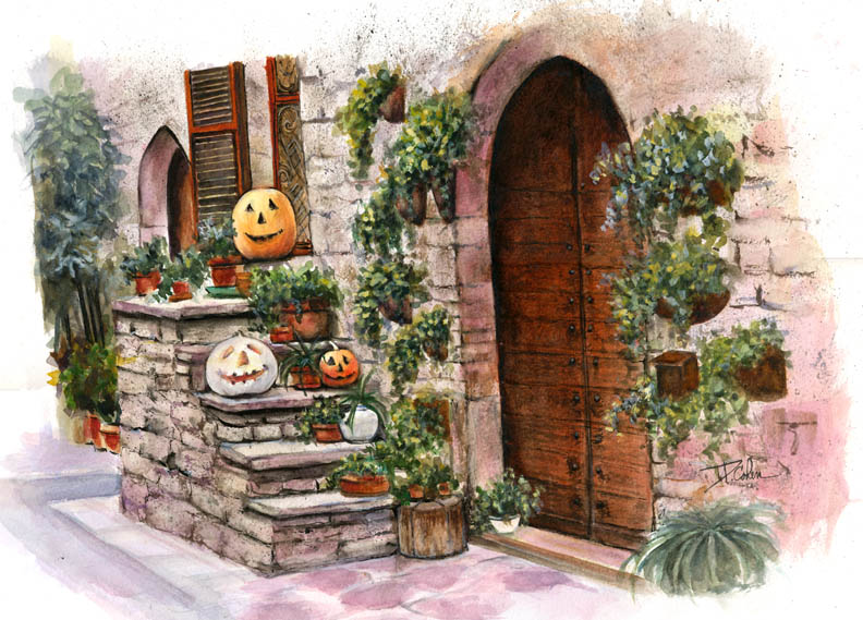 Pumpkin Porch
