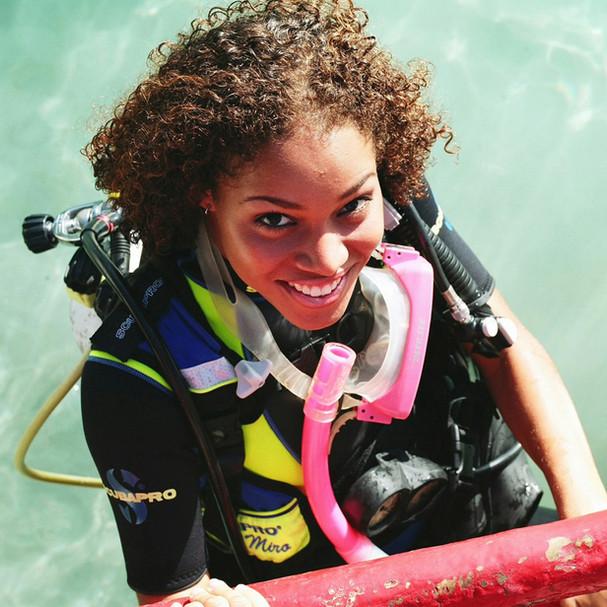 Smiling Diver