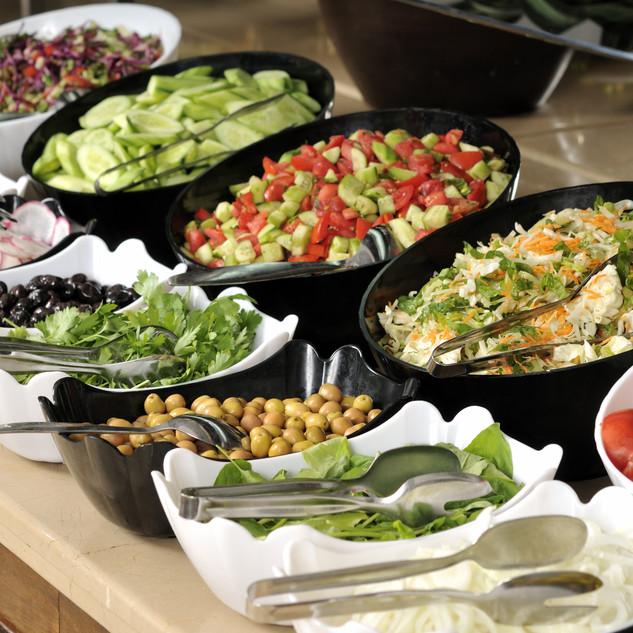 Salad buffet - a series of RESTAURANT im