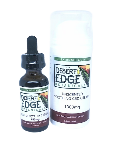 Desert Edge Botanicals 2 Item Bundle