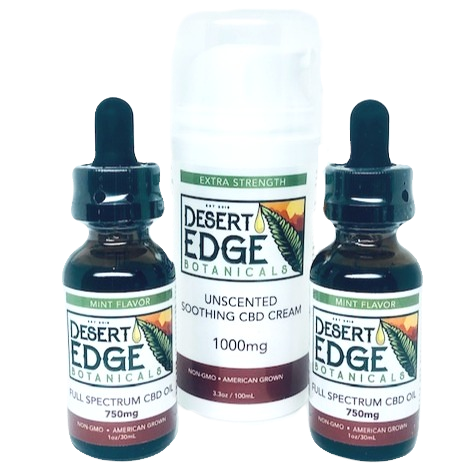 Desert Edge Botanicals 3 Item Bundle