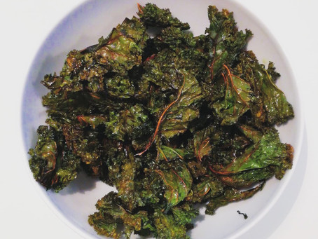 Crispy grønkålschips