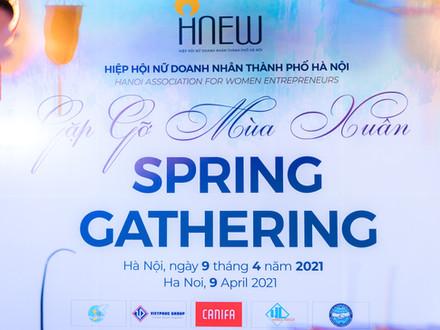 Tiệc ngoại giao HNEW 2021: Spring Gathering – Gặp gỡ mùa xuânNgày 09 tháng 04 năm 2021