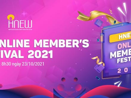 CHƯƠNG TRÌNH: HNEW ONLINE MEMBER'S FESTIVAL 2021