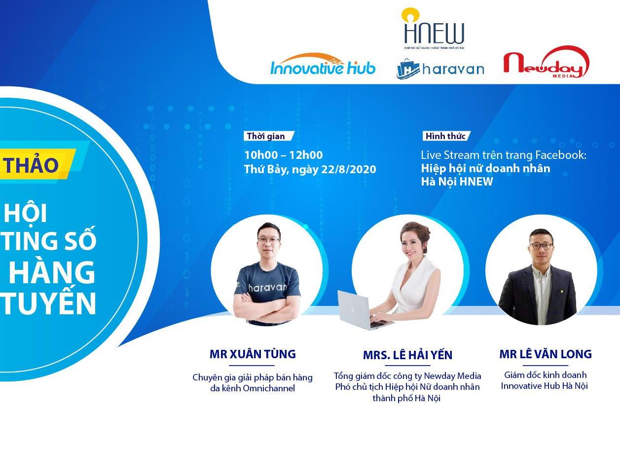 Hội thảo: Cơ hội Marketing số & Bán hàng trực tuyến