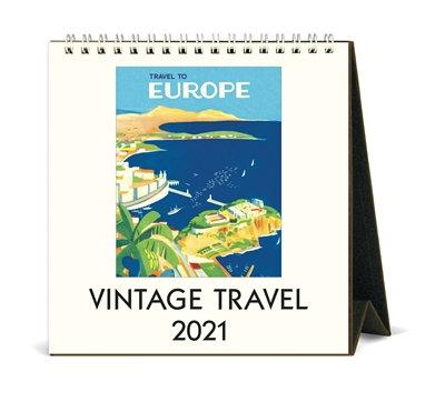 Desk Calendar -Vintage Travel