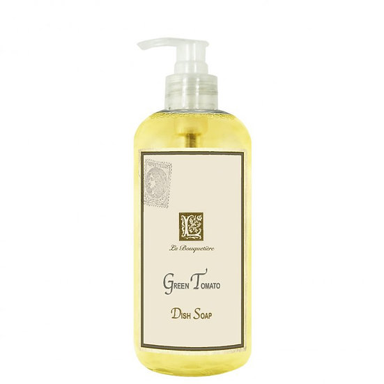 French Collection green tomato dish soap.