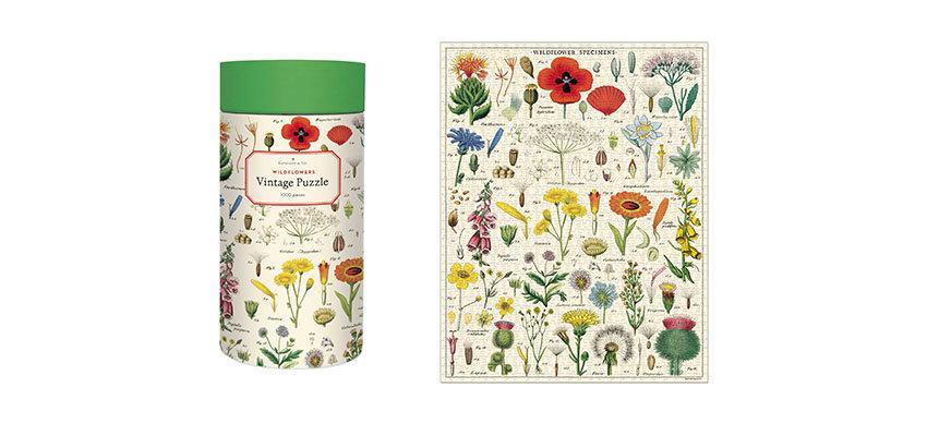 Cavallini Botannical Garden Puzzle-1000