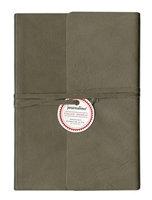 Italian Leather Journal 5x7 Grey Thin