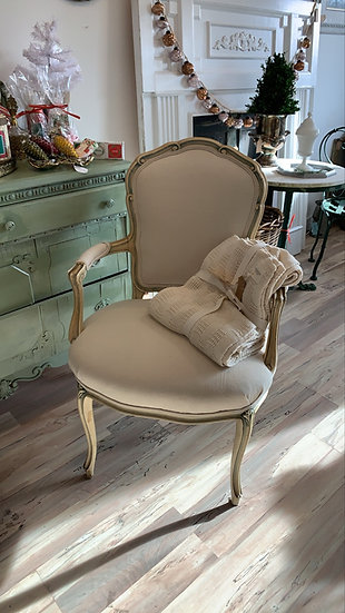 French chair Re ulpholstered