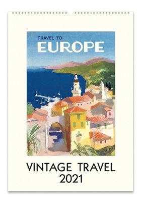 Wall Calendar - Vintage Travel