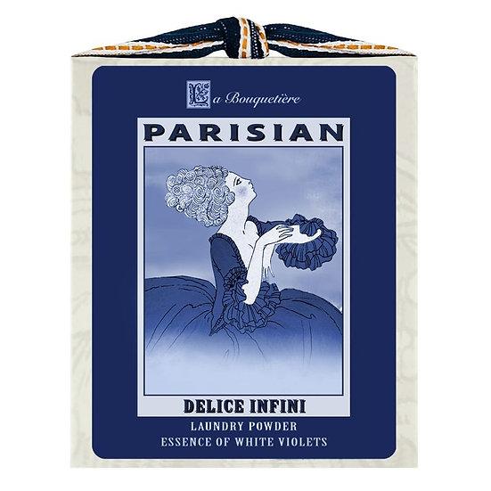 Delice Blue & White Laundry Powder Box