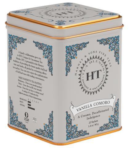 Vanilla Comoro Tea- Decaffeinated