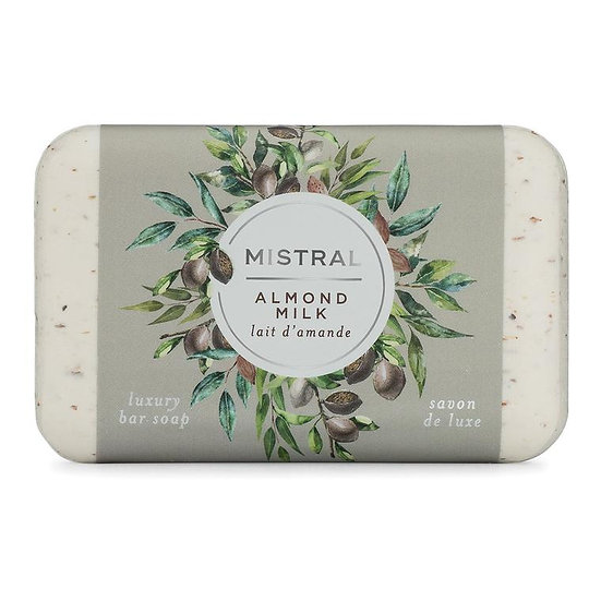 Mistral Almond Milk bar soap