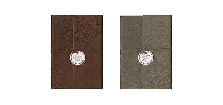 Cavallini Italian Leather journals