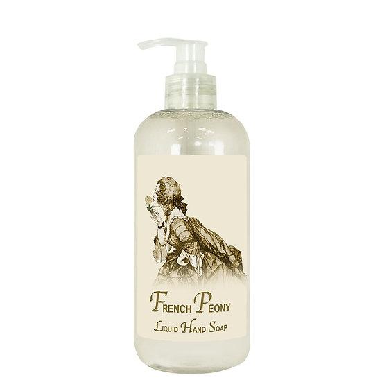 Liquid Hand Soap- French Peony
