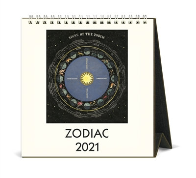 Desk Calendar - Zodiac