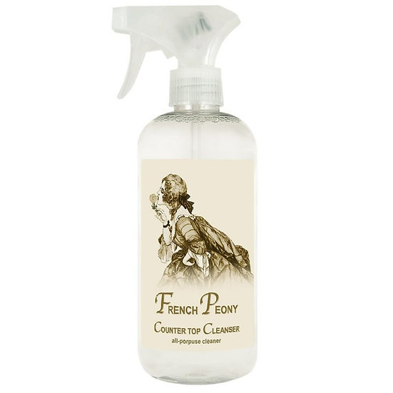 French Peony Counter and Surface Cleaner