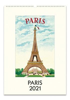 Wall Calendar - Paris