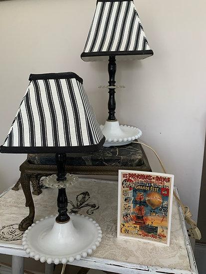 Vintage Boudoir Lamps