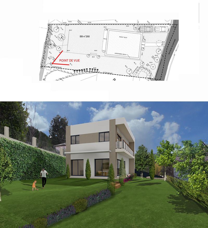 Insertion Villa Biot