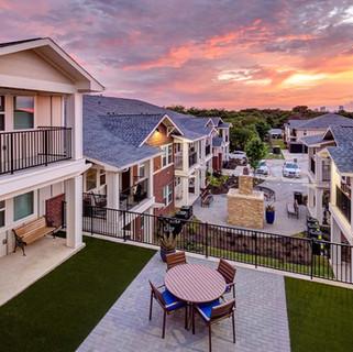 Sunset at Fash Place Senior Housing