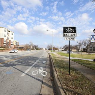 UTA Boulevard Bike Lanes