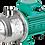 Thumbnail: Многоступенчатый насос Wilo-Economy MHI 202 0.55 кВт, 220 B, 50 Гц