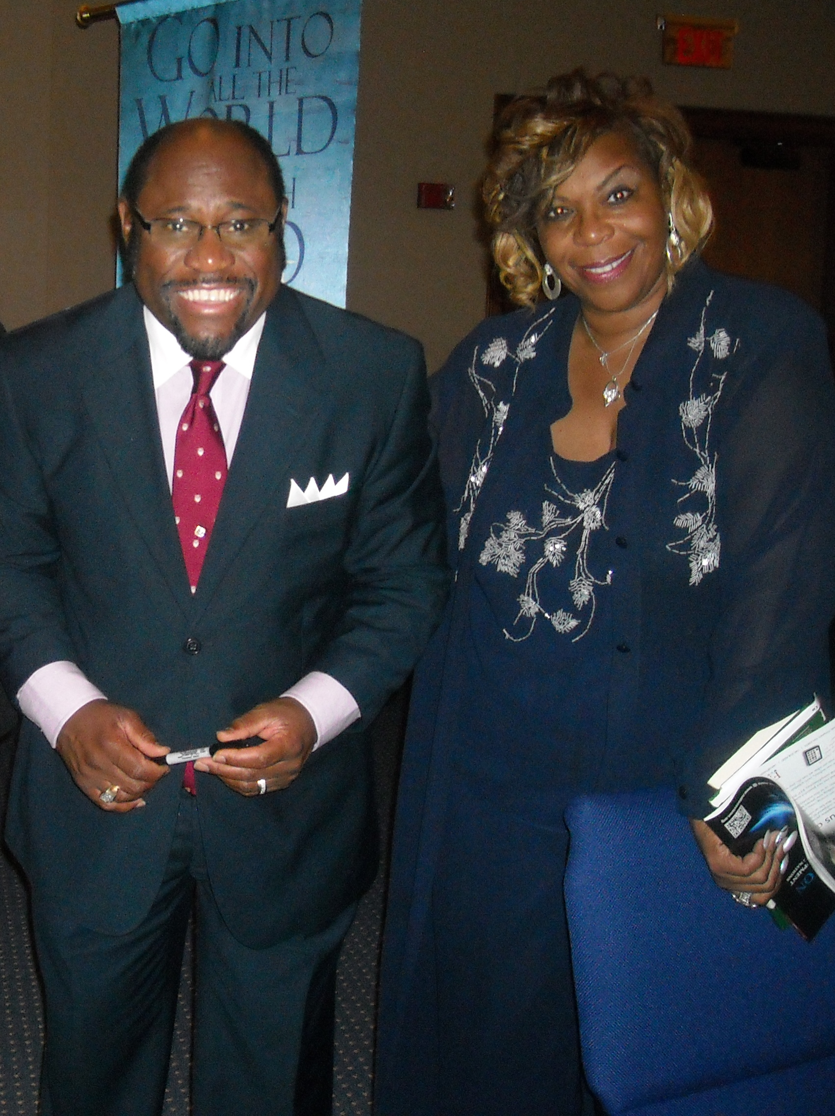 mom and myles munroe