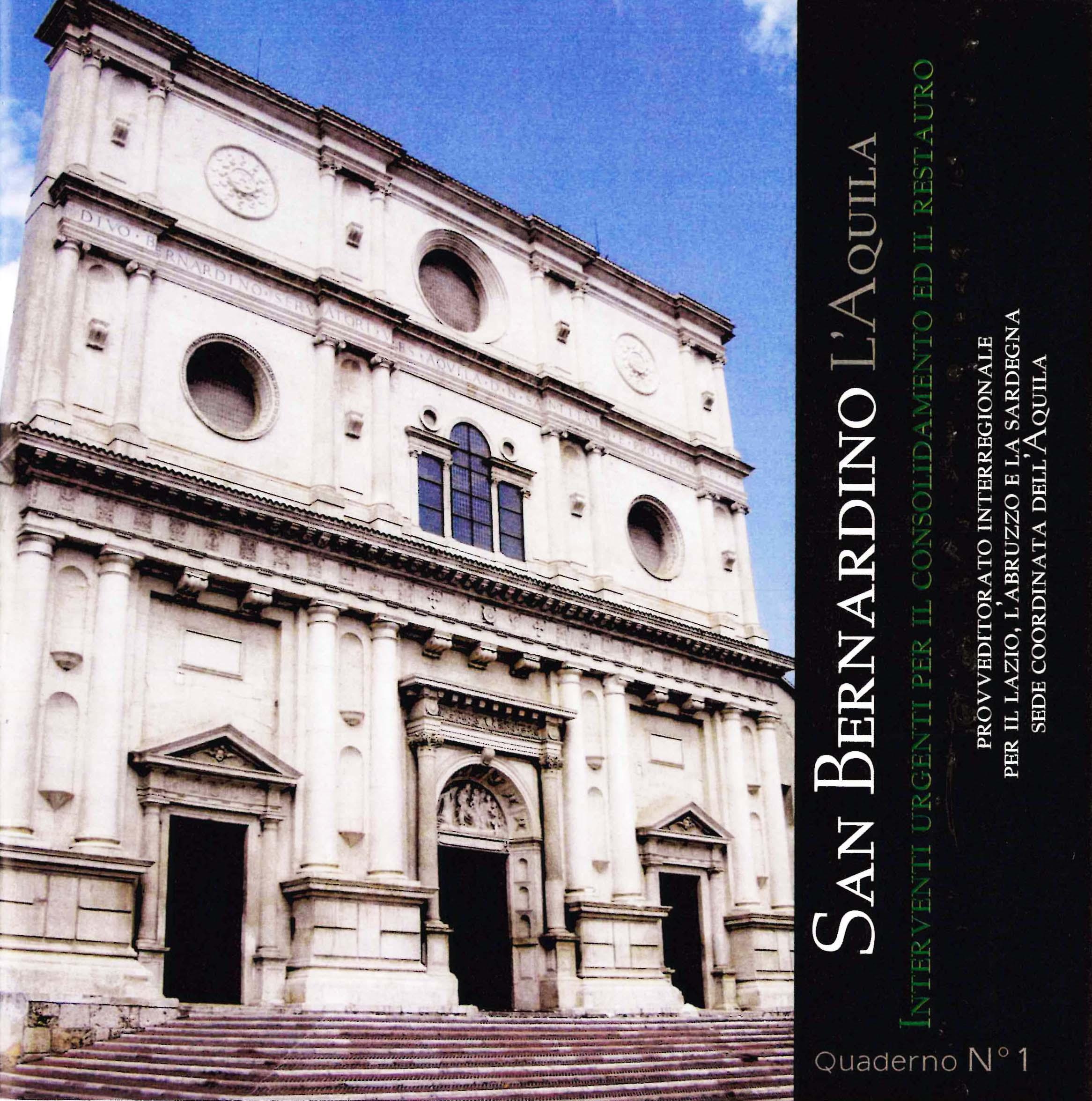San Bernardino L'Aquila Quaderno...