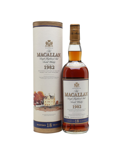 Macallan 18 Year Old 1982