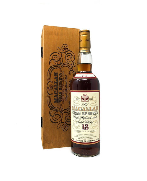 Macallan 18 Year Old 1980 Gran Reserva