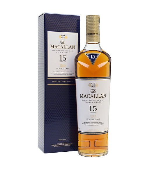 MACALLAN 15 Year Old Double Cask