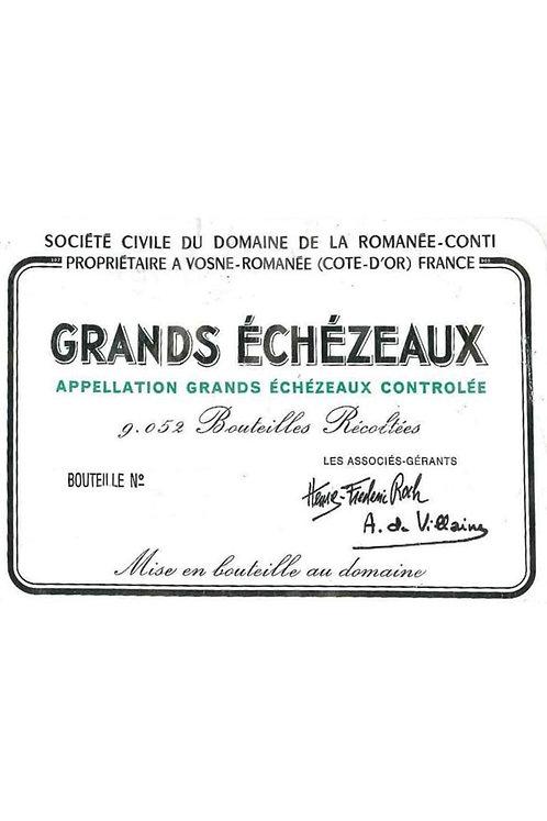 Domaine de la Romanee-Conti Grands Echezeaux