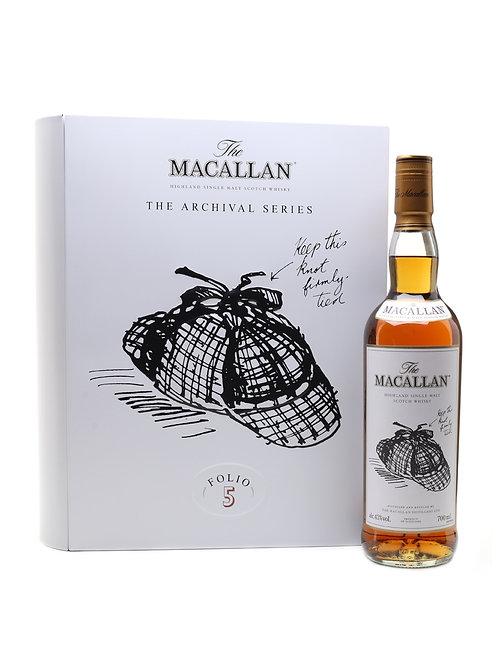 Macallan The Archival Series Folio 5
