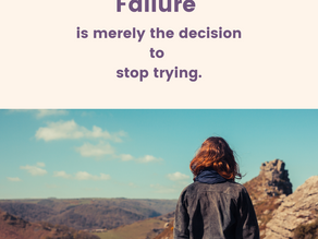 How to deal with Fear of Failure