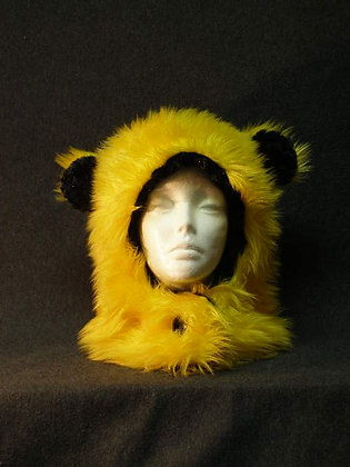 Yellow with Black  Plush