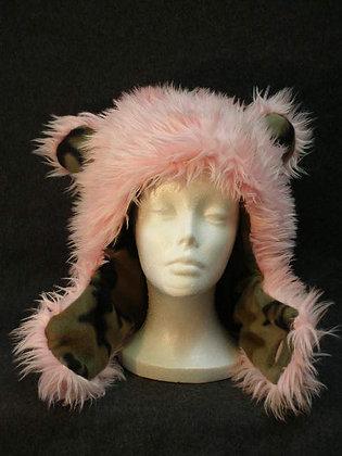 Pink with Camo Fleece