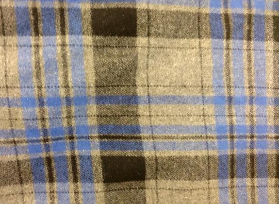 Blue & Grey Flannel {Inner-Fabric}