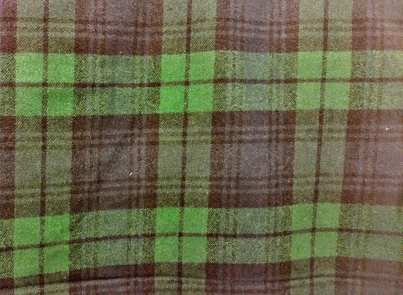 Blue & Green Flannel {Inner-Fabric}