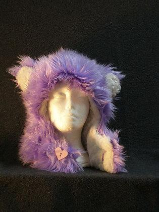 Lavender with White Plush