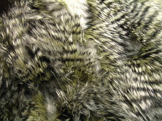 Olive Owl Fur