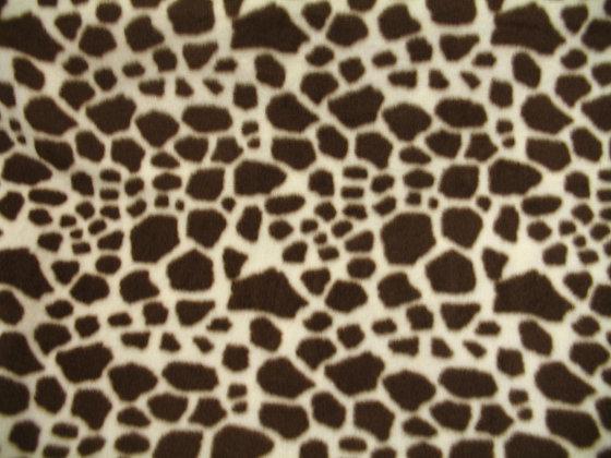 Giraffe Fleece {Inner-Fabric}