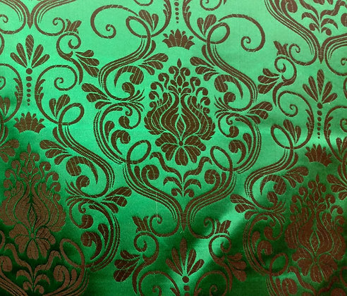 Green Brocade {Inner-Fabric}