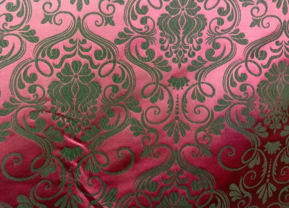 Maroon Brocade {Inner-Fabric}
